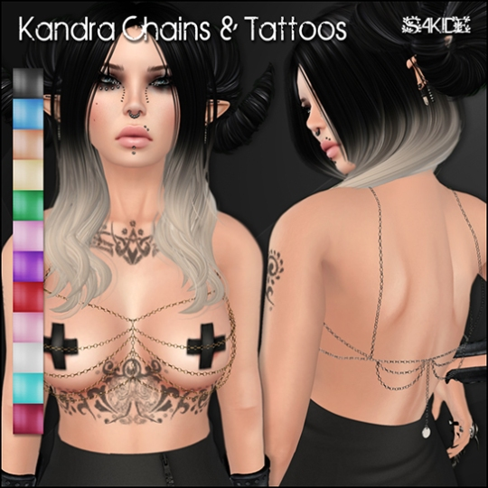 Kandra Chains & Tattoos for The Body Mod 2014