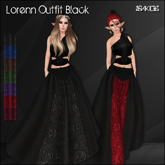 Lorenn Outfits for Mystic Realms Faire