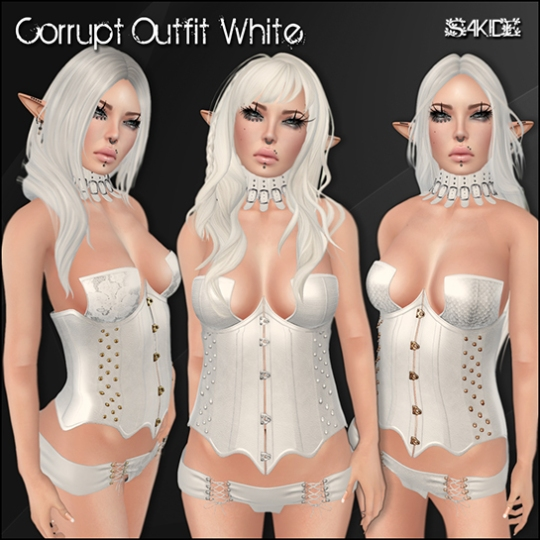 Corrupt Outfit White