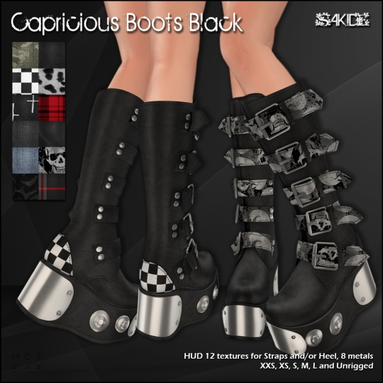 Capricious Boots for Thrift Shop 8