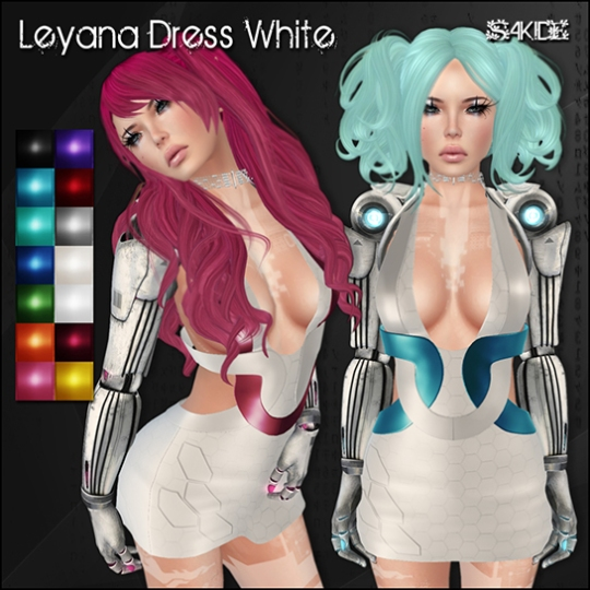 Leyana Dresses for Futurewave 2015