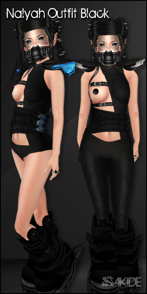 Nalyah Outfits for The Fantasy Collective