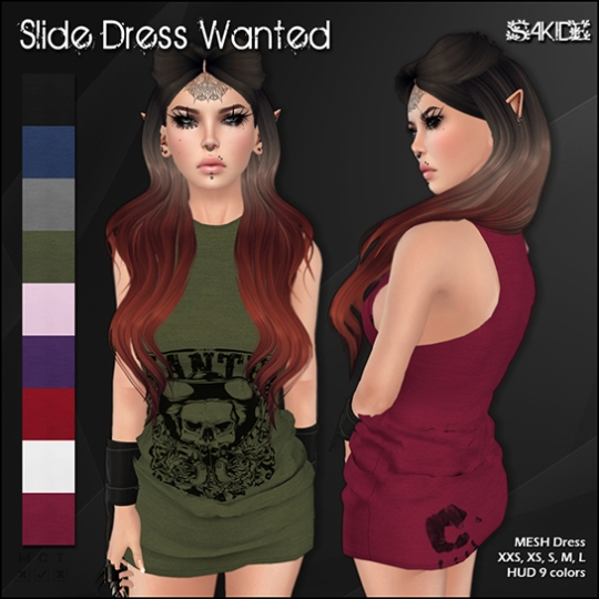 Slide Dresses for 100 Block 2015
