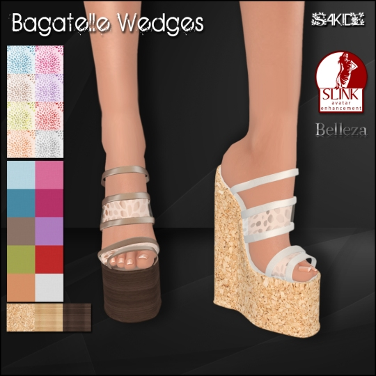 Bagatelle Wedges