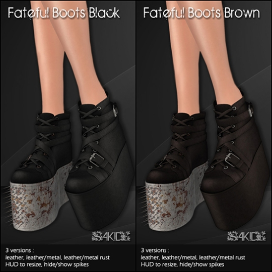 Fateful Boots for The End
