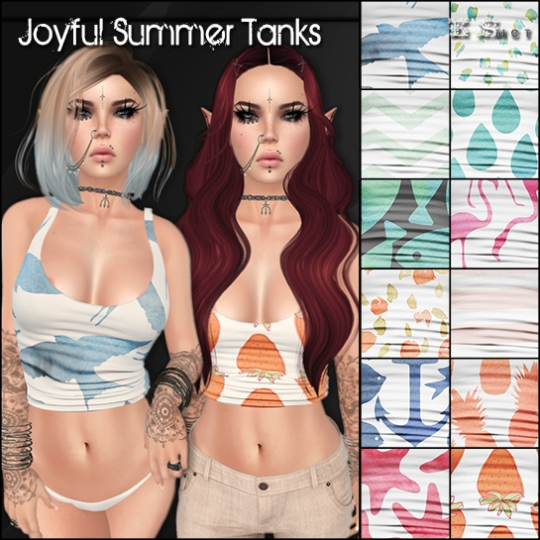 Joyful Summer Tanks