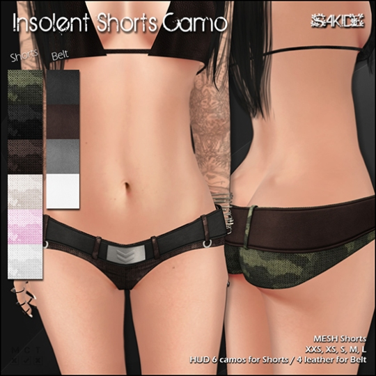 Insolent Shorts Camo