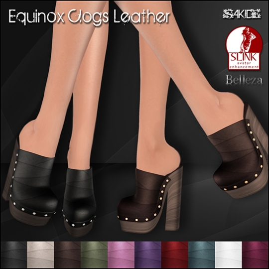 Equinox Clogs for Body Mod Expo