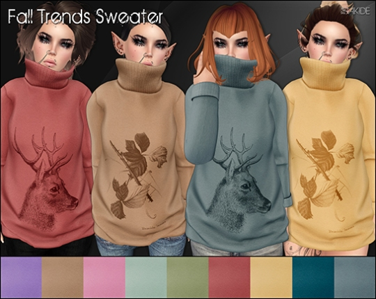 Fall Trends Sweater for Autumn Effect Hunt