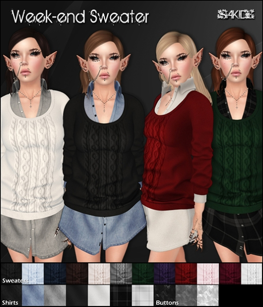 Week-end Sweater for Thrift Shop 11