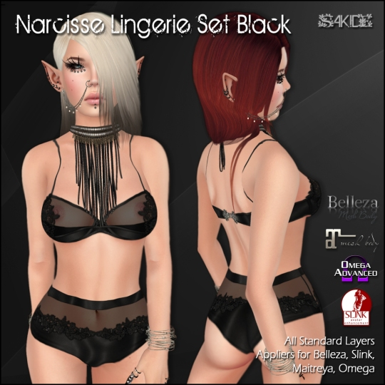 Narcisse & Roses Lingerie Sets for Project Limited 2016