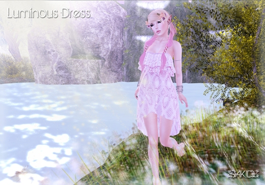 Luminous Dress for Fantasy Faire 2016