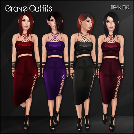 Grave Outfits for The Dark Style Fair 3