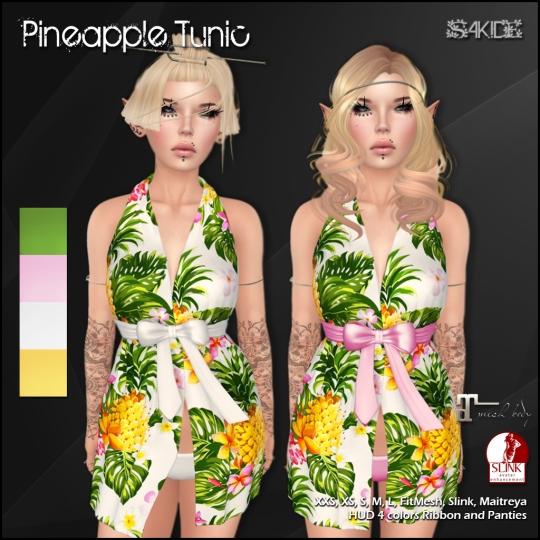 Tropical Tunics for Tropical Summer Fair