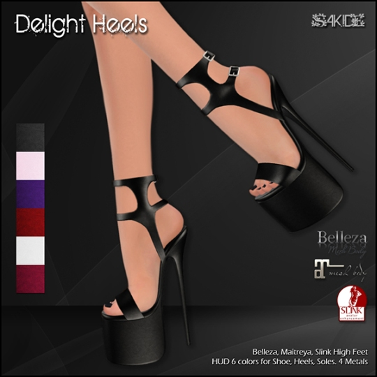 Delight Heels for Fetish Fair 2016