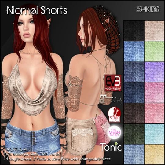 Niomei Shorts