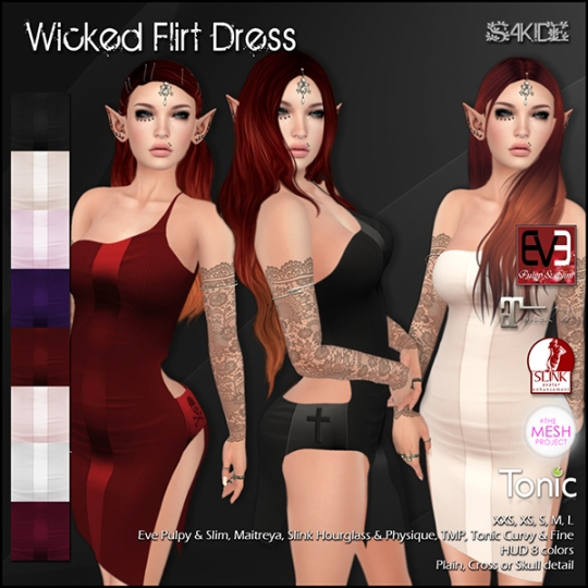 Wicked Flirt Dress
